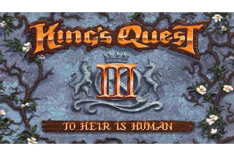 King's Quest III Redux - Spell Book Close-up - YouTube