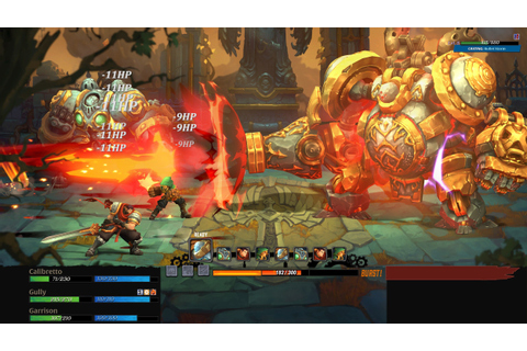 Battle Chasers: Nightwar Preview - A Dungeon-Crawling ...