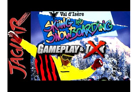 Val d'Isere Skiing and Snowboarding gameplay for the Atari ...