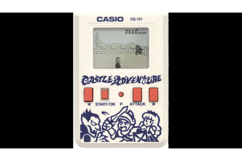 Castle Adventure (handheld game by Casio, 1988. Made in ...