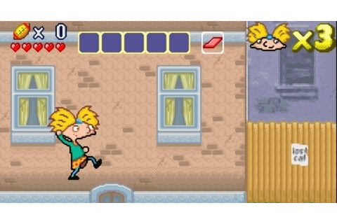 Hey Arnold! - The Movie for GBA Games