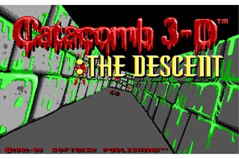 Catacomb 3D Adventure Compilation, The (1993)(CDV)(De) Game