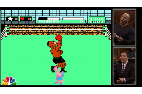 Mike Tyson Tries to Beat Himself in Punch-Out!! - YouTube