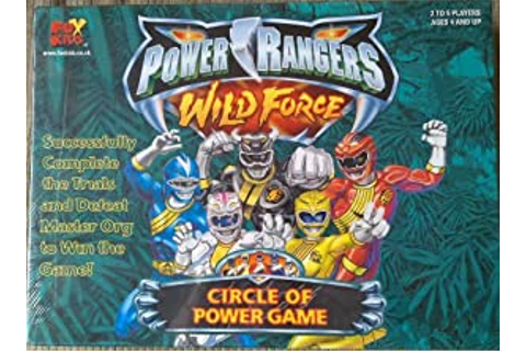 Power Rangers Wild Force Circle Of Power Game: Amazon.co ...