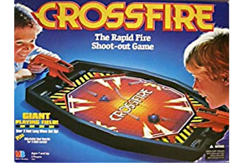 Amazon.com: Crossfire Shoot Out Board Game: Toys & Games