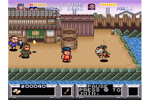 The Legend of the Mystical Ninja - Nintendo SNES - Games ...