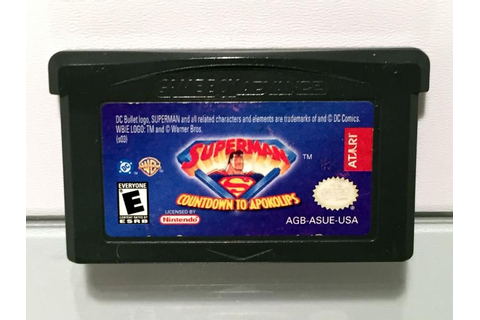 Superman Countdown to Apokolips (Gameboy Advance Modul)