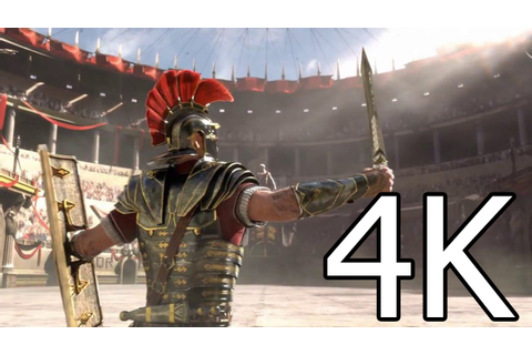 Ryse: Son of Rome - 4K Game Video [Ultra HD] 2160p - YouTube