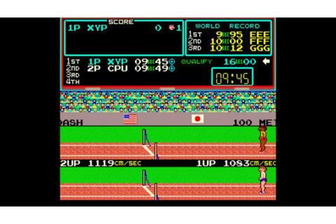 [ARCADE/MAME] Track & Field - Longplay / Playthrough (EASY ...