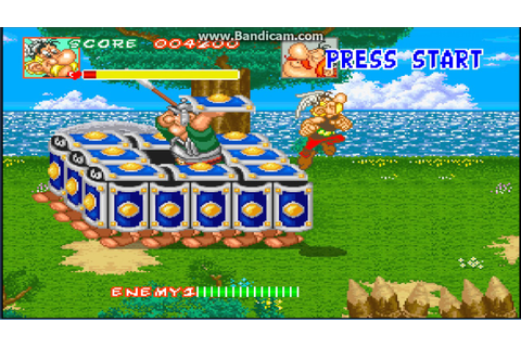 Asterix and Obelix - arcade game for emulator mame by www ...
