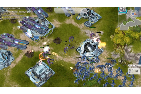 Starcraft-like Gameplay on Mobile | Gates of War iOS ...