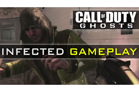 CoD Ghosts INFECTED Gameplay - New Game Mode - Infection ...