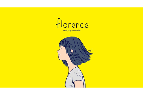 'Florence' Hits the App Store Ahead of Schedule | TouchArcade