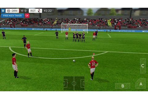 Dream League Soccer 2016 Android Gameplay - YouTube