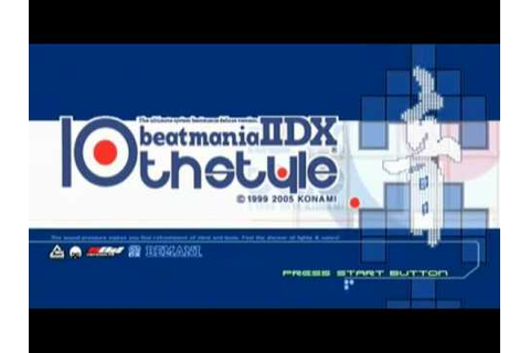 Beatmania IIDX ALL INTROS 1~17 + substream - YouTube