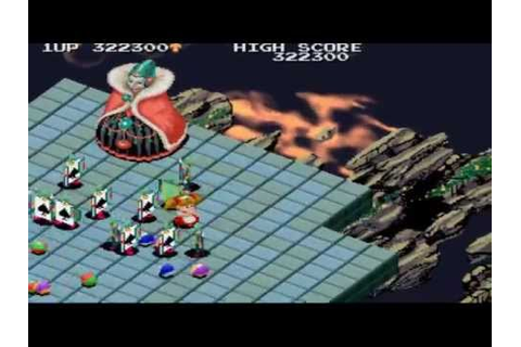 [HQ] Marchen Maze Stage 9 End 1988 Namco Mame Retro Arcade ...