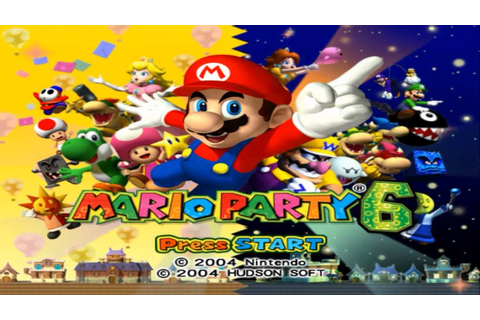 Mario Party 6 - Intro - YouTube