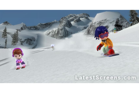 All We Ski and Snowboard Screenshots for Wii