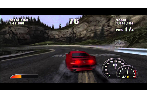 Burnout 2: Point of Impact (PS2) - The Crystal Freeway ...