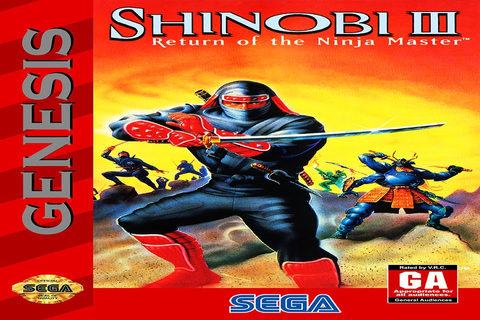 Sega Genesis Longplay [004] - Shinobi 3 Return of the ...