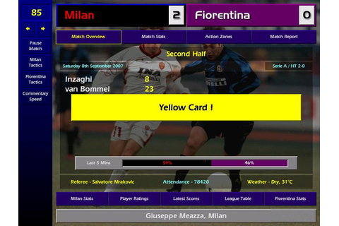 Championship Manager: Season 01/02 Download (2001 Sports Game)