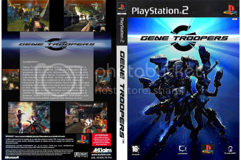 Tutor Dos Games: Baixar Game Gene Troopers - PS2