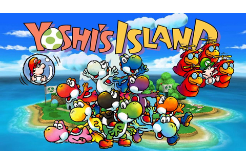 Super Mario World 2: Yoshi's Island (SNES) [1/5] - YouTube