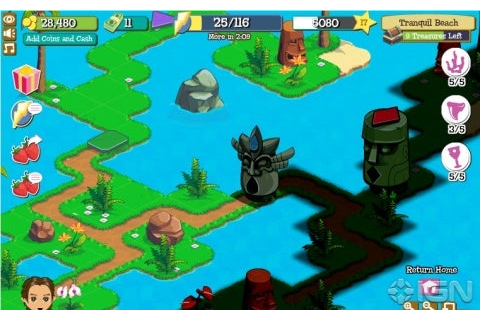 Facebook Games: Treasure Isle - IGN