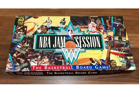 NBA Jam Session - Basketball Board Game 1994 - Hunters ...