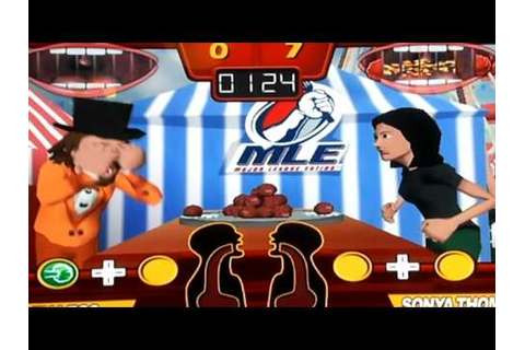 Major League Eating: The Game Co-Review for Nintendo Wii ...