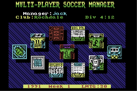 Download Multi-Player Soccer Manager - My Abandonware