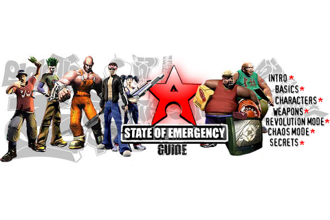 State of Emergency - ps2 - Walkthrough and Guide - Page 3 ...