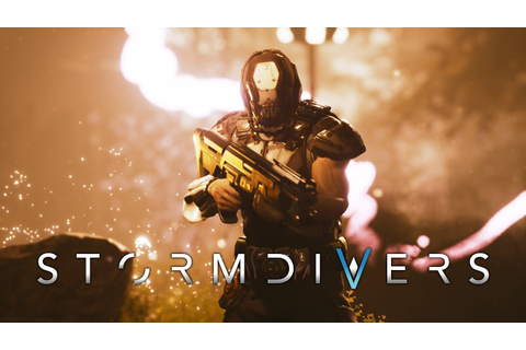 Stormdivers is a sci-fi battle royale shooter from Resogun ...