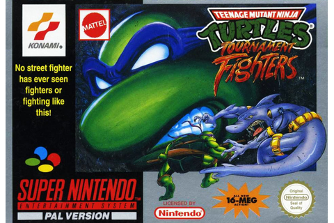 Turtles:Tournament Fighters – Nintendo SNES