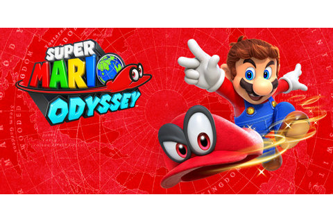 In shops and on Nintendo eShop now: Super Mario Odyssey ...