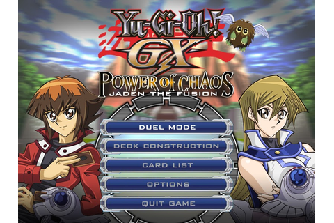 Yu-Gi-Oh! GX - Power of Chaos Mod by RistaR87 (PC Game ...