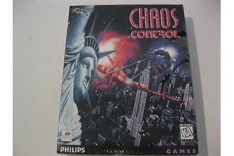 Chaos Control new sealed PC CD-ROM Philips Games 1995 | eBay