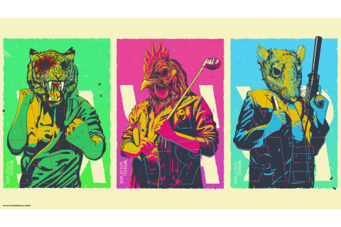 Hotline Miami, Video Games Wallpapers HD / Desktop and ...