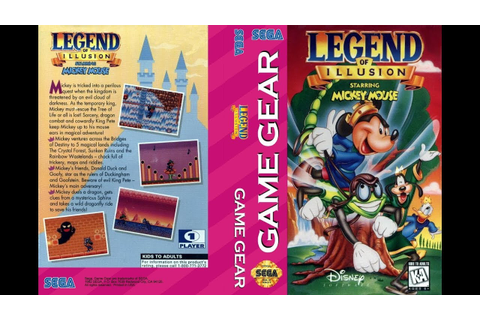 GAME GEAR - LEGEND OF ILLUSION Starring Mickey Mouse [720p ...
