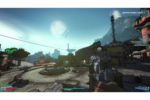 Borderlands 2 (Oasis Location) Video Game - Day and Night ...