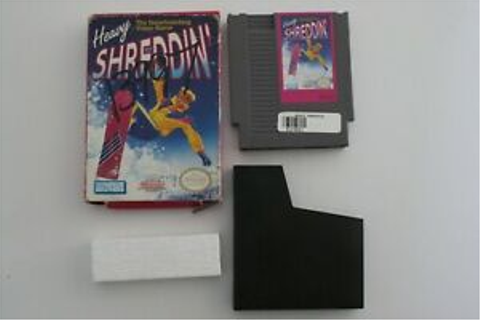 Heavy Shreddin' NES Game Box Nintendo | eBay