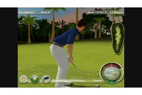 International Golf Pro Video Game Review (PS2) - YouTube