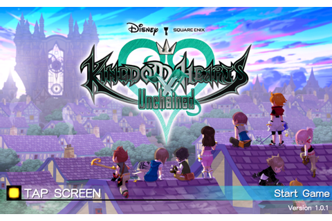 KINGDOM HEARTS Unchained χ - Android Apps on Google Play