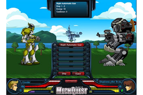 Free Online RPG Games| Good Free RPG games: MechQuest ...