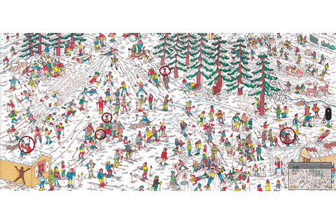 Here Is How To Cheat Your Way Through The Where's Waldo ...