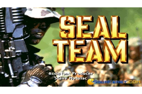Seal Team gameplay (PC Game, 1993) - YouTube