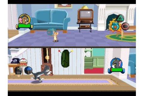 Tom and Jerry in House Trap (2000) by Warthog PS game