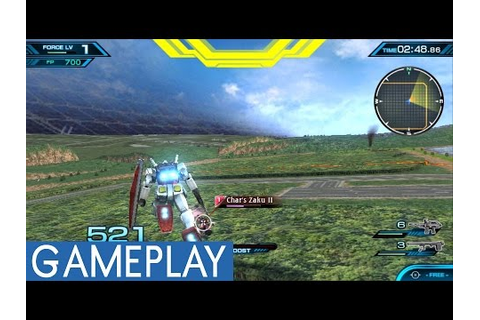 Mobile Suit Gundam: Extreme VS Force PS Vita Gameplay ...