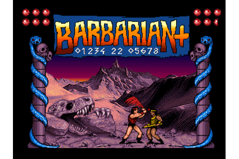 Indie Retro News: Barbarian+ - New videos for this ...