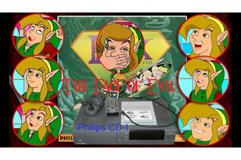 Link The Face of Evil & Zelda's Adventure CD-I - YouTube